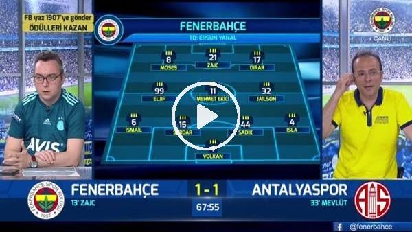 'Eljif Elmas'ın golünde FB TV spikerleri