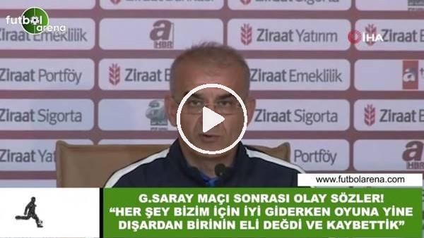 """Ercan Kahyaoğlu'ndan olay sözler! """"Her şey bizim için iyi giderken oyuna yine dışardan birinin eli değdi ve kaybettik"""""""