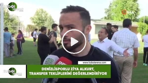 'Denizlisporlu Ziya Alkurt, transfer tekliflerini değerlendiriyor