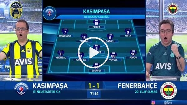Valbuena'nın muhteşem golünde FB TV spikerleri