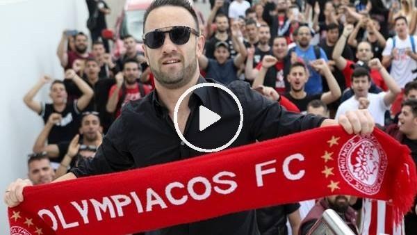 'Olympiakos taraftarı Valbuena'yı coşkuyla karşıladı