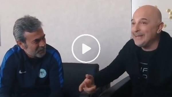 'Yavuz Seçkin'in taklitleri Aykut Kocaman'ı güldürdü