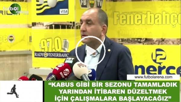 """'Semih  Özsoy: """"Kaus gibi bir sezonu tamamladık yarından itibaren düzetlmek için çalışmalara başlayacağız"""""""