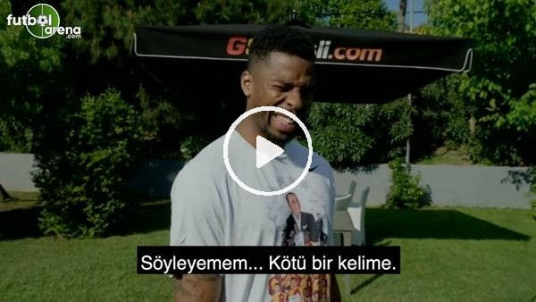 """Donk: """"Türkçe öğrendiğim ilk şeyi söyleyemem, kötü bir kelime"""""""