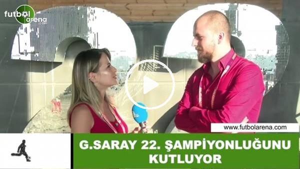 'Burhan Can Terzi, Galatasaray'ın şampiyonluğunu 3 kelimeyle özetledi