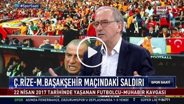 """Fatih Altaylı'dan Abdullah  Avcı'ya sert sözler! """"İstanbul Halk Ekmeğin parasıyla şampiyonluğa mı oynayacaksın? Edebinle sus.."""""""