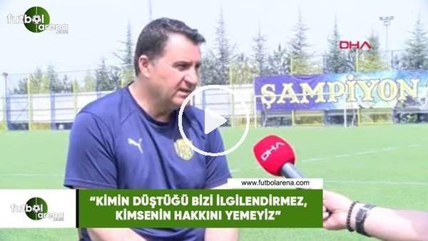 """'Mustafa Kaplan: """"Kimin düştüğü bizi ilgilendirmez, kimsenin hakkını yemeyiz"""""""