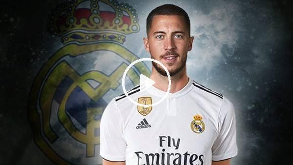 'Real Madrid, Eden Hazard'ı açıkladı!
