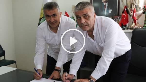 'Akhisarspor, Mehmet Altıparmak ile sözleşme imzaladı