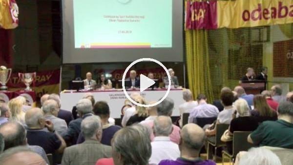 Eşref Hamamcıoğlu, Divan Kurulu Toplantısı'na ara verdi