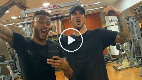 Neymar'dan yeni sezona hazırlık