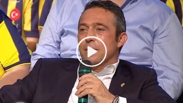 'Fenerbahçe taraftarı canlı yayında Ali Koç'u tanıyamadı