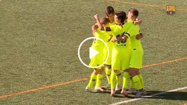 'Barcelona futbol okulu öğrencilerinin bu sezonki en güzel golleri..
