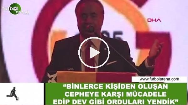 """'Mustafa Cengiz: """"Binlerce kişiden oluşan cepheye karşı mücadele edip dev gibi orduları yendik"""""""