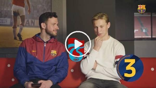 'Frenkie De Jong, Trabzonspor'u unutmadı