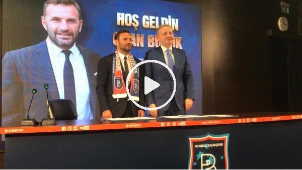 'Başakşehir, Okan Buruk için imza töreni düzenledi