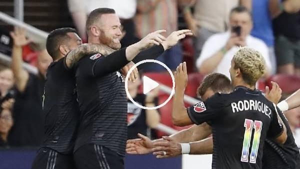 Wayne Rooney'den şapka çıkarılacak gol