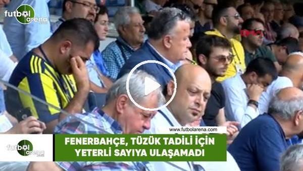 'Fenerbahçe, tüzük tadili için gereken sayıya ulaşamadı