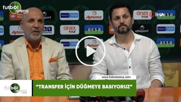 """'Hasan Çavuşoğlu: """"Transfer için düğmeye basıyoruz"""""""