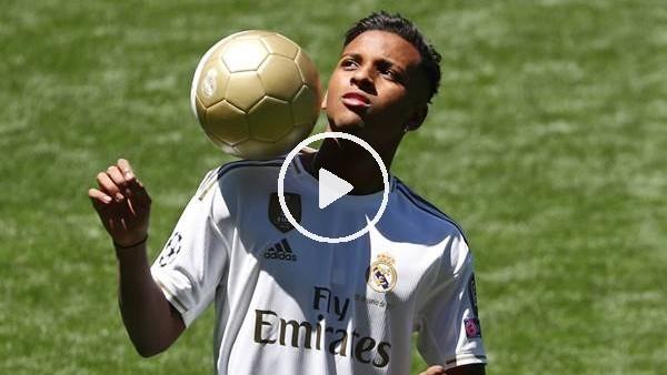 'Real Madrid, Rodrygo Goes'i basına tanıttı