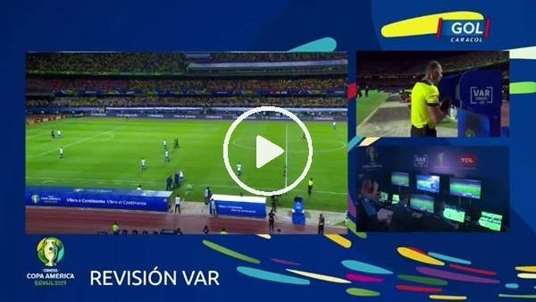 'Brezilya - Bolivya maçının VAR kayıtları yayınlandı