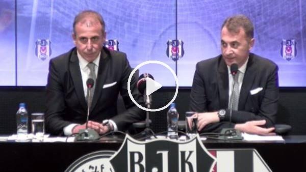 Beşiktaş, Abdullah Avcı için imza töreni düzenledi