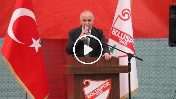 Boluspor'da Necip Çarıkcı güven tazeledi