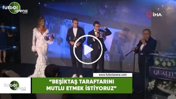 """'Abdullah Avcı: """"Beşiktaş taraftarını mutlu etmek istiyoruz"""""""