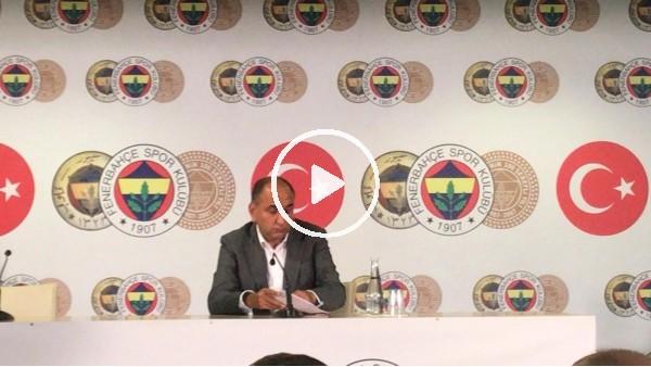 'Semih Özsoy basın toplantısı düzenledi