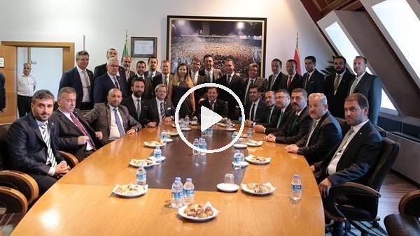 'Bursaspor'da yeni başkan Mesut Mestan mazbatasını aldı