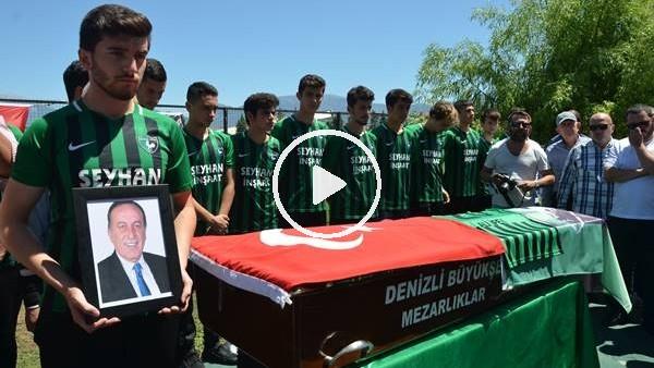 'Denizlispor'da eski başkan Ali İpek için cenaze töreni düzenlendi