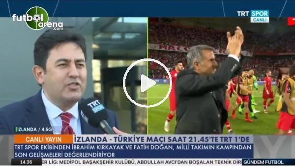 """Fatih Doğan: """"Cengiz Ünder'in kasığında gerilme var"""""""