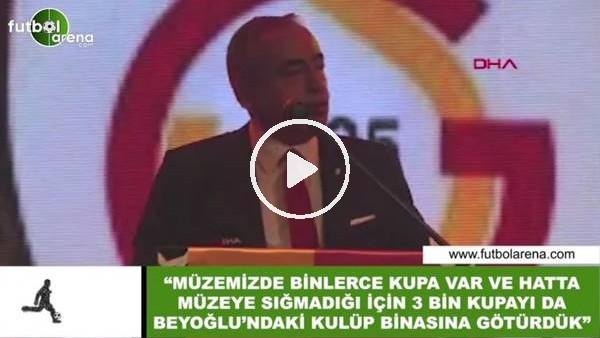 """'Mustafa Cengiz: """"Müzemize sığdıramadığımız 3 bin kupayı kulüp binasına götürdük"""""""