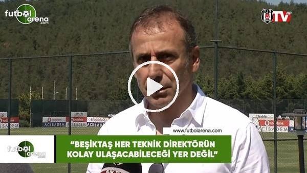 Abdullah Avcı'dan Beşiktaş taraftarına mesaj