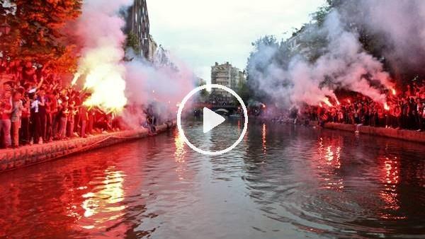 'Eskişehirspor'un kutlamaları festivali aratmadı