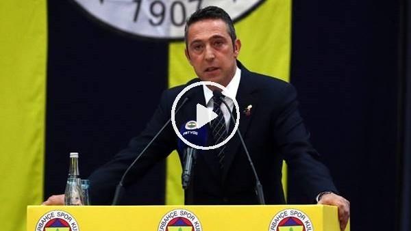 'Ali Koç'un Mali Genel Kurulu'ndaki açıklamaları