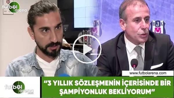 """'Ergin Aslan: """"3 yıllık sözleşmenin içerisinde bir şampiyonluk bekliyorum"""""""