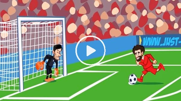 'Tottenham - Liverpool maçı animasyon film oldu