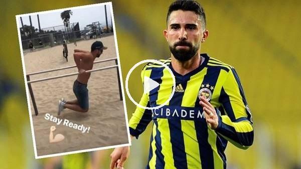 'Hasan Ali Kaldırım çalışmayı elden bırakmıyor...
