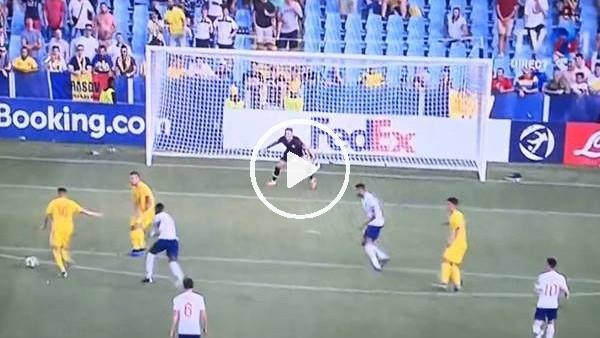 Ianis Hagi'nin İngiltere'ye attığı gol
