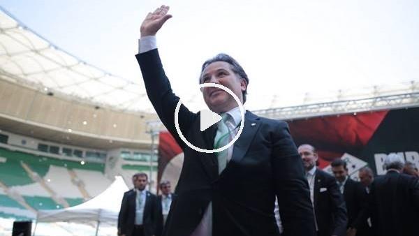 'Bursaspor'un yeni başkanı Mesut Mestan seçildi