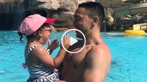 'Mevlüt Erdinç'in tatil keyfi