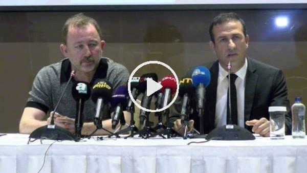 'Yeni Malatyaspor, Sergen Yalçın için imza töreni düzenledi