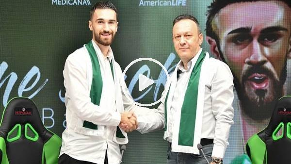 Konyaspor, Riad Bajic için imza töreni düzenledi