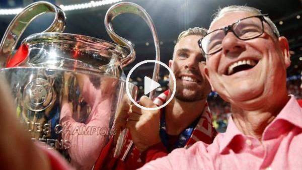 'Liverpool'da Henderson ve kanser tedavisi gören babasının sevinç gözyaşları