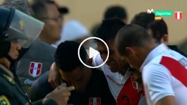 'Konyasporlu Hurtado milli maçta sakatlandıı