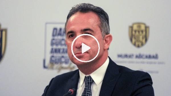 'Murat Ağcabağ, Ankaragücü başkanlığına aday olduğunu açıkladı