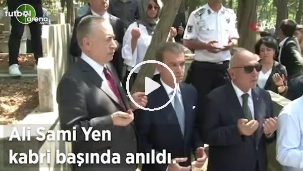 Ali Sami Yen kabri başında anıldı, Mustafa Cengiz, Süleyman Seba'nın kabrini de ziyaret etti
