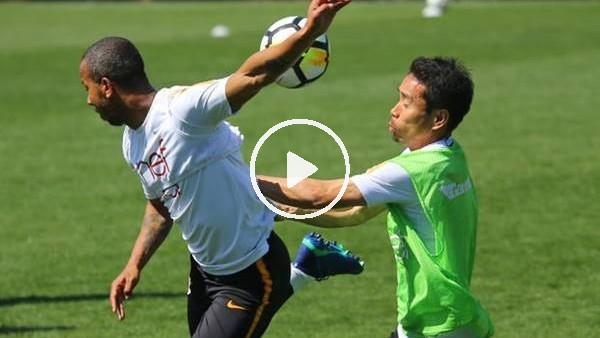 'Mariano takım arkadaşı Nagatomo'ya takıldı