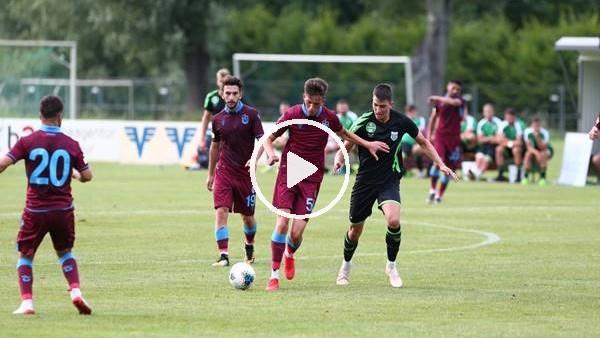 'Trabzonspor ilk hazırlık maçında golsüz berabere kaldı